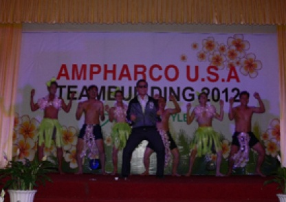 """TEAM BUILDING 2012 """"AMPHARCO U.S.A Style"""""""